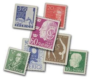 Sveriges frimärken