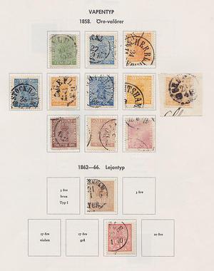 Samling Sverige 1858-1971