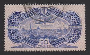 50 Francs Luftpost