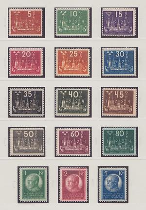 Samling Sverige 1858-1995