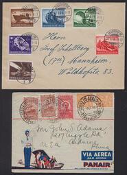 Utländska brev och vykort