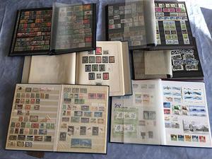 Fyndlåda diverse samlingar