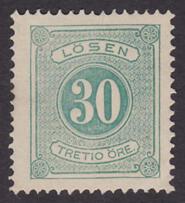 F L8, 30 öre Lösen (*)