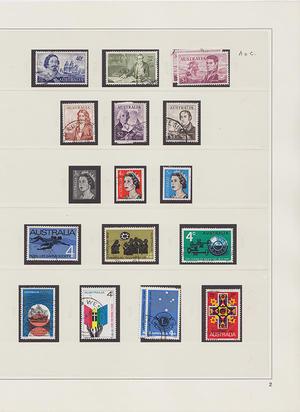 Samling Australien 1913-1998