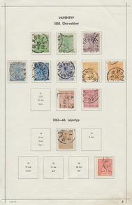 Samling Sverige 1856-1970