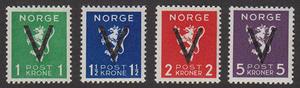 """NO F 294-97, """"V""""-märken **"""