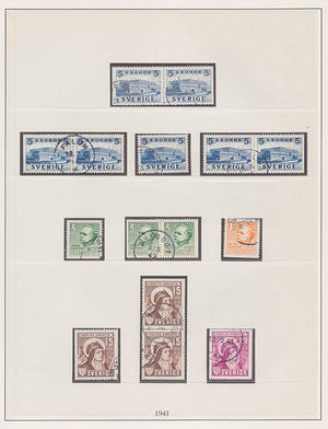 Samling Sverige 1855-1969