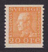 F 181a, 20 öre Gustaf V profil vänster **