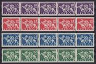 Lützen 1932 5-strip komplett **