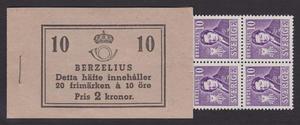 H40, Berzelius 10 öre