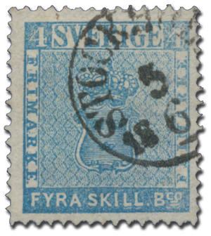 No. 1 Stamps of the World