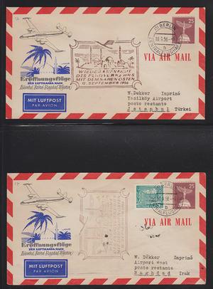 Samling flygbrev