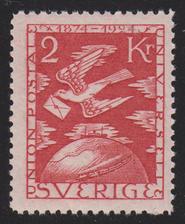 F 224, 2 kr Världspostföreningen 50 år **