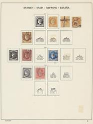 Samling Spanien 1851-1971