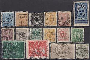Samling Sverige 1855-1978