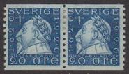 F 152Acxz, 20 öre Gustaf II Adolf par *