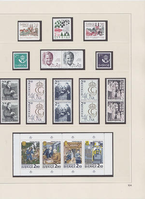Samling Sverige 1973-1995