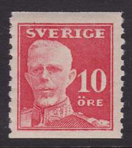 F 149A, 10 öre Gustaf V - en face **