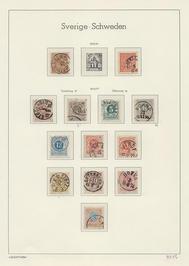 Samling Sverige 1855-1965