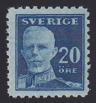 F 151Cbz, 20 öre Gustaf V - en face **