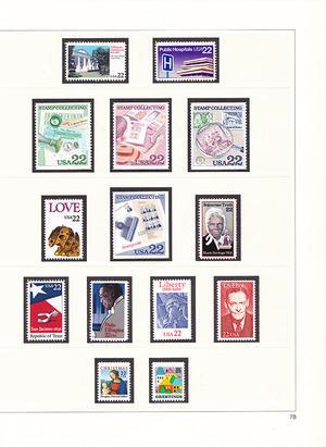 Samling USA 1970-1991