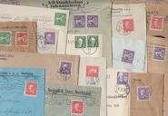 1 kg brev med bandmärken, 1920-30-talen