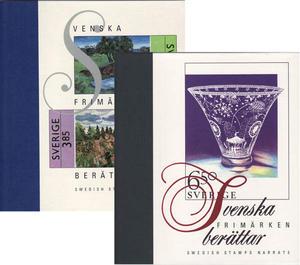Svenska frimärken berättar, Årsböcker 1993/94 + 1995/96