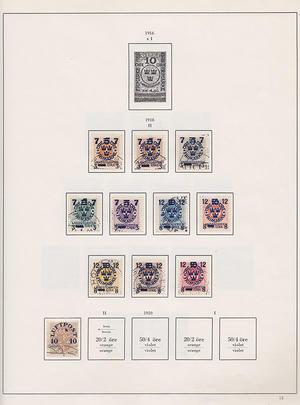 Samling Sverige 1858-1984
