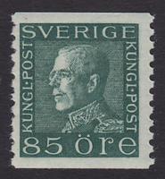 F 193, 85 öre Gustaf V Profil Vänster **